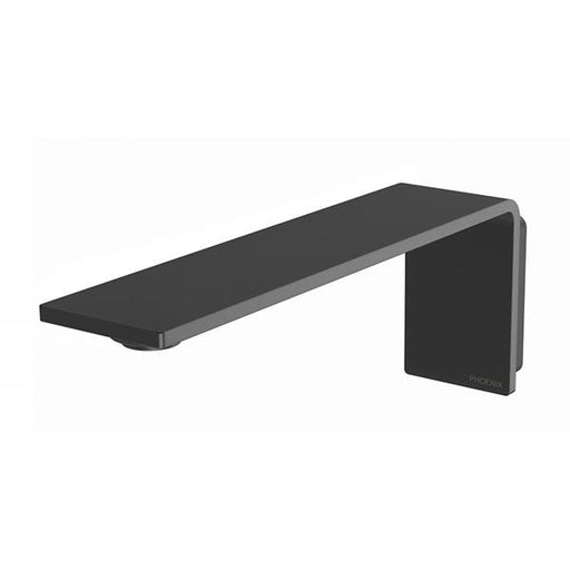 Phoenix Axia Wall Basin/Bath Outlet 200mm - Matte Black Online at The Blue Space