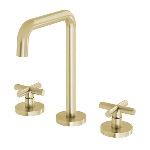 Phoenix Vivid Slimline Plus Basin Set - Brushed Gold online at The Blue Space