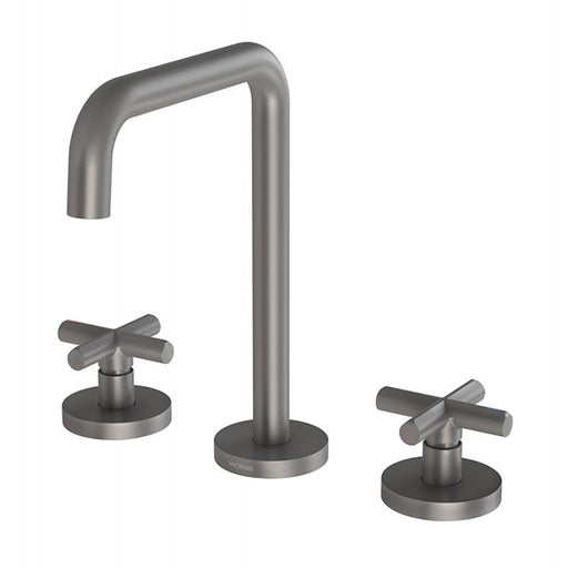 Phoenix Vivid Slimline Plus Basin Set - Gun Metal online at The Blue Space