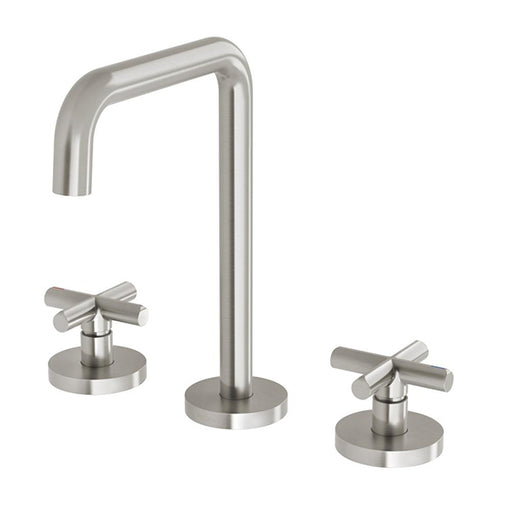 Phoenix Vivid Slimline Plus Basin Set - Brushed Nickel online at The Blue Space