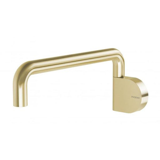 Phoenix Designer Swivel Bath Outlet - Brushed Gold - The Blue Space