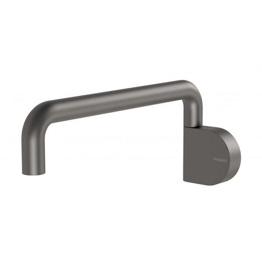 Phoenix Designer Swivel Bath Outlet - Gunmetal - The Blue Space