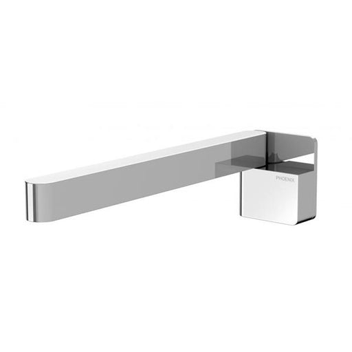 Phoenix Designer Swivel Bath Outlet 230mm Square - Chrome - The Blue Space
