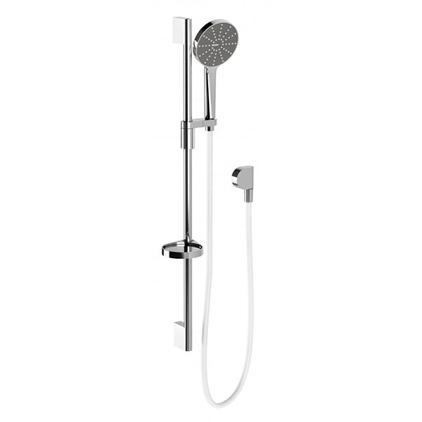 Phoenix NX Vive Rail Shower - Chrome/White - The Blue Space