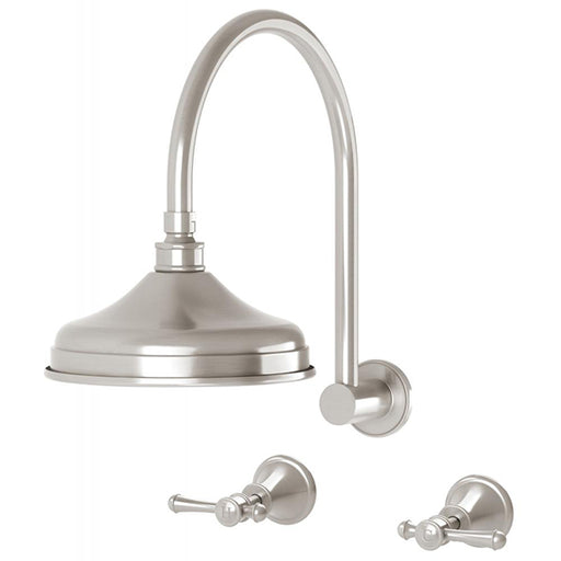Phoenix Nostalgia Lever Shower Set Brushed Nickel online at The Blue Space