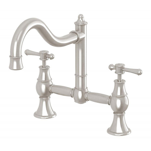 Phoenix Nostalgia Exposed Sink Set Brushed Nickel Online at The Blue Space