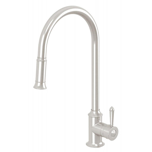 Phoenix Nostalgia Pull Out Sink Mixer Brushed Nickel Online at The Blue Space