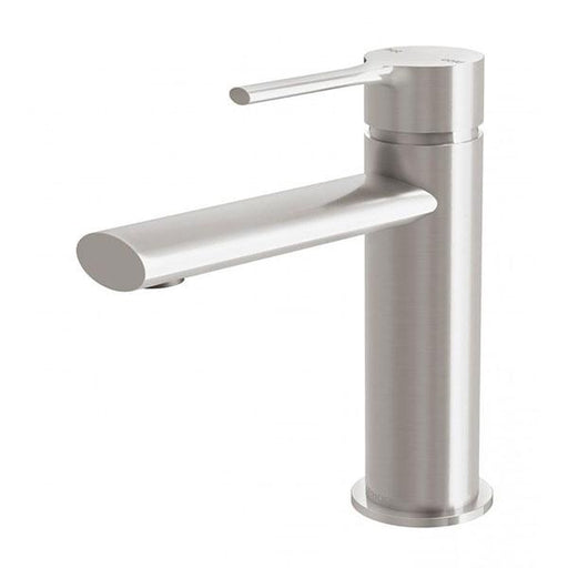 Phoenix Vivid Slimline Oval Basin Mixer - Brushed Nickel Online at the Blue Space