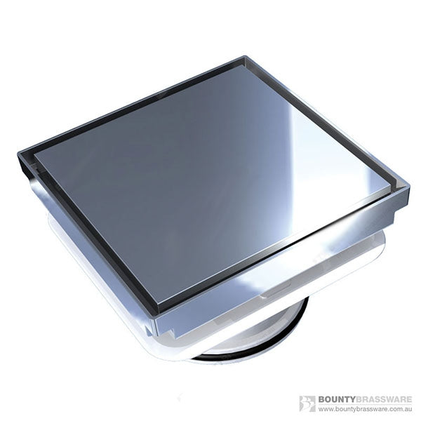 Bounty Brassware Bermuda Deluxe Megaflex Reflections Square 150x1000mm by Bounty Brassware - The Blue Space