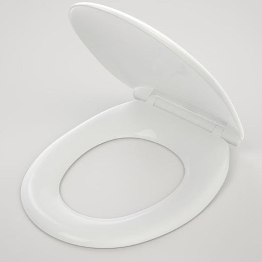 Caroma Caravelle Toilet Seat Soft Close Quick Release Hinge - The Blue Space