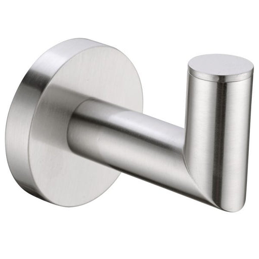 Nero Dolce Robe Hook - Brushed Nickel online at The Blue Space