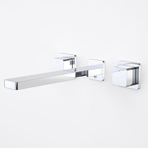 Dorf Epic Bloc Wall Basin/Bath 240mm Set - Chrome - the blue space