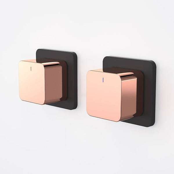 Dorf Epic Bloc Wall Top Assemblies - Black/Rose Gold - the blue space