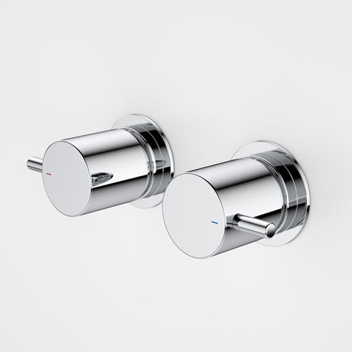 Caroma Contemporary Lever Wall Handle Set - The Blue Space