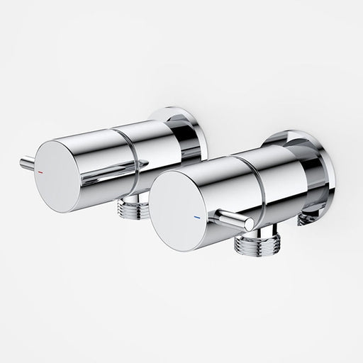 Caroma Coolibah Contemporary Lever Washing Machine Tap Set by Caroma - The Blue Space