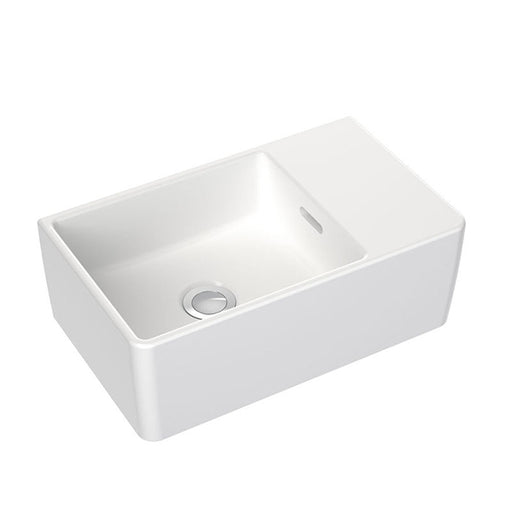 Clark Square Hand Wall Basin No Tapholes
