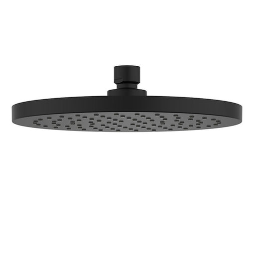 Clark Round Overhead Rain Shower 200mm - Matte Black - The Blue Space