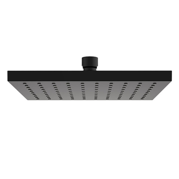 Clark Square Overhead Rain Shower - Matte Black - The Blue Space