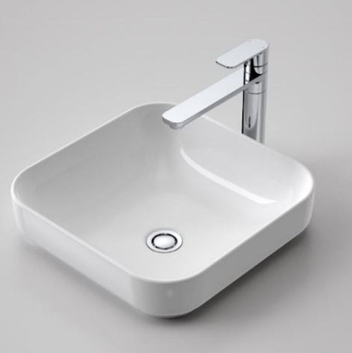 Caroma Sculptural Square Artisan Inset Basin 400mm