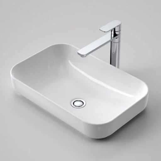 Caroma Sculptural Rectangle Artisan Inset Basin 530mm