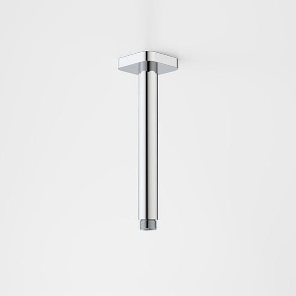 Caroma Contemporary Luna Straight Arm SQ Flange 210mm by Caroma - The Blue Space