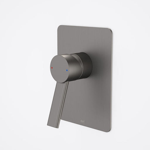 Dorf Villa Bath/Shower Mixer Gunmetal Grey