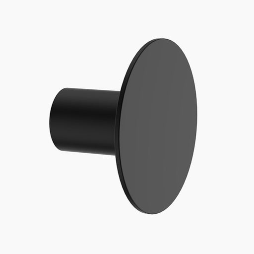 Clark Round Bathroom Wall Hook - Matte Black - The Blue Space