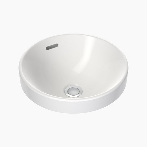 Clark Round Inset Basin 350mm with overflow - The Blue Space