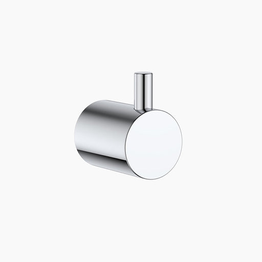 Clark Round Robe Hook/ Towel Hook - Chrome - The Blue Space