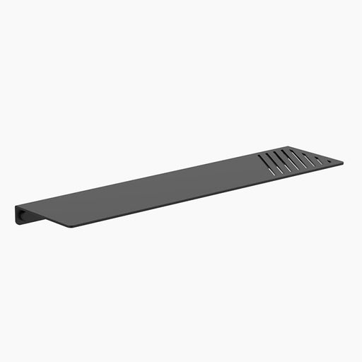 Clark Square Metal Bathroom Shelf - Matte Black - The Blue Space
