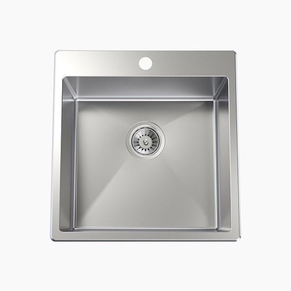 Clark Square 35L Laundry Sink 1 taphole - The Blue Space