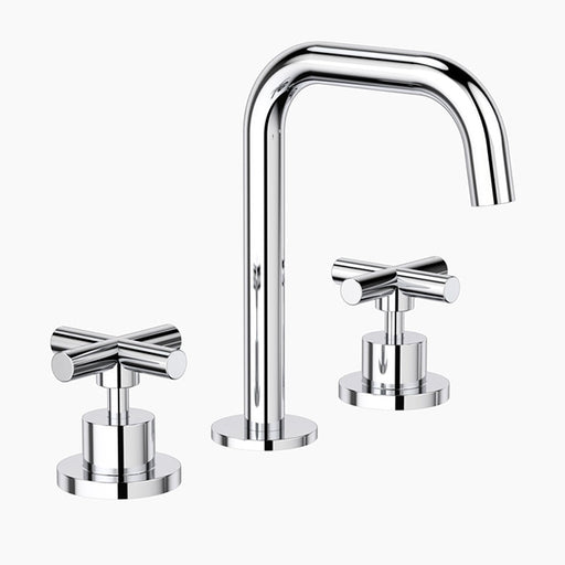 Clark Cross Basin Set - Chrome
