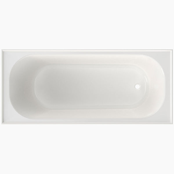 Clark Round Shower Bath without overflow 1675mm - The Blue Space