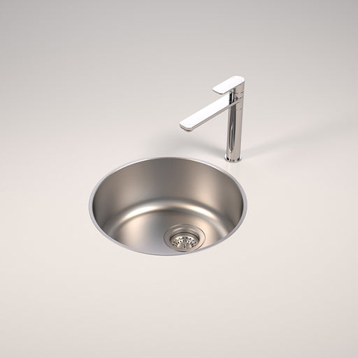 Caroma Contemporary Round Bowl Sink & Small Kitchen Sinks Best Prices and Brands Online - The Blue Space