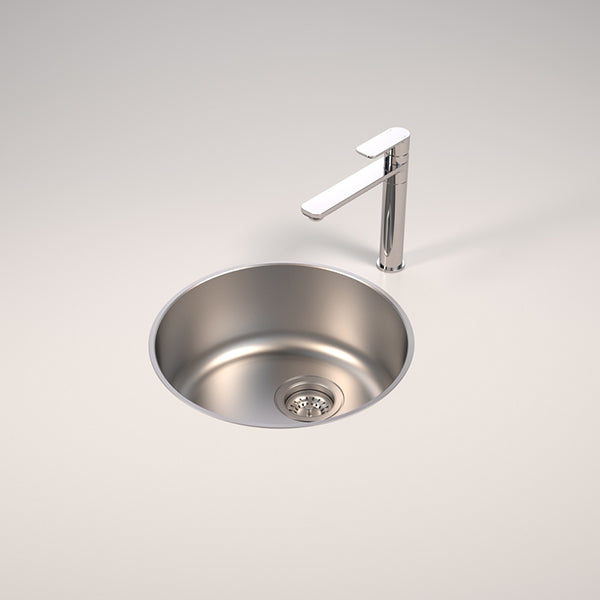 Caroma Contemporary Round Bowl Sink by Caroma - The Blue Space