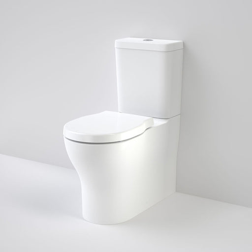 Caroma Opal Cleanflush Easy Height Wall Faced Close Coupled Toilet Suite - The Blue Space