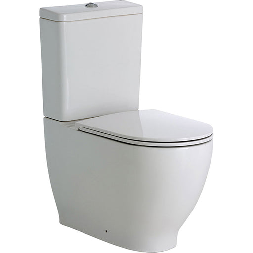 Fienza RAK Moon Back-To-Wall Suite Online at The Blue Space - Toilet with thin seat
