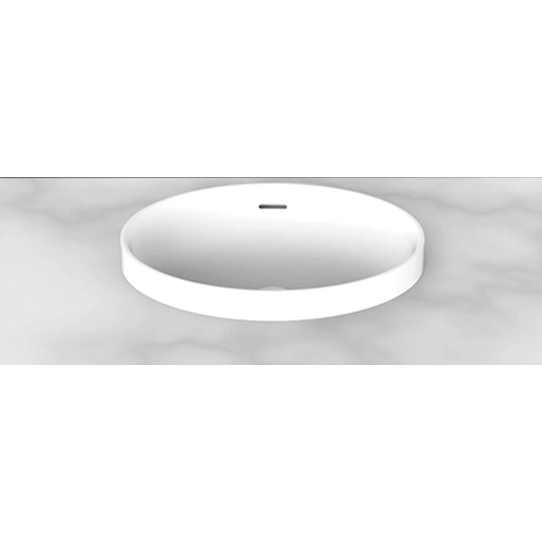 ADP Ozera Semi Inset Solid Surface Basin - The Blue Space