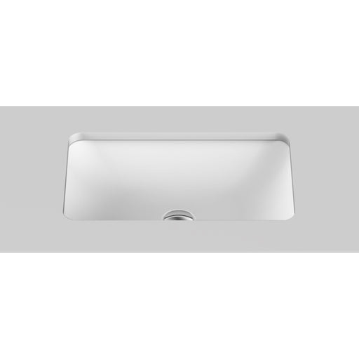 ADP Glory Solid Surface Under Counter Basin in gloss or matte white at The Blue Space