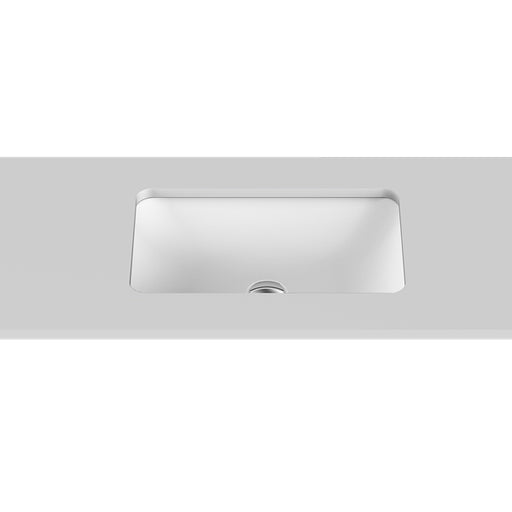 ADP Hope Solid Surface Under Counter Basin in gloss or matte white at The Blue Space