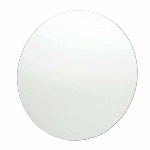 Thermogroup Round Polished Edge Bathroom Mirror at The Blue Space
