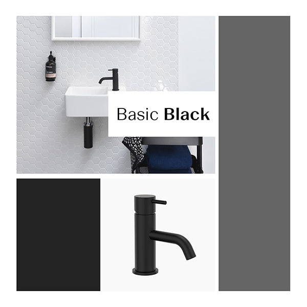 Bathroom Package - Basic Matte Black at The Blue Space