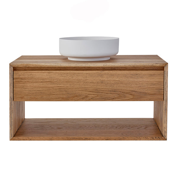 Loughlin Furniture Baxter Single Timber Vanity 600mm - 1200mm