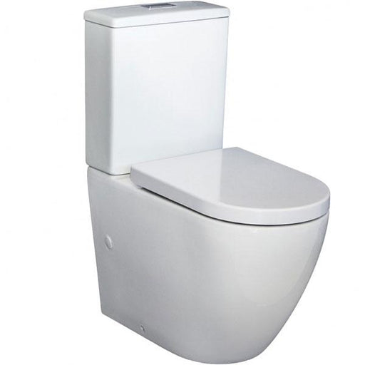 Fienza Alix Rimless Back-to-Wall Toilet Suite - Easy Height Toilet Online at the Blue Space