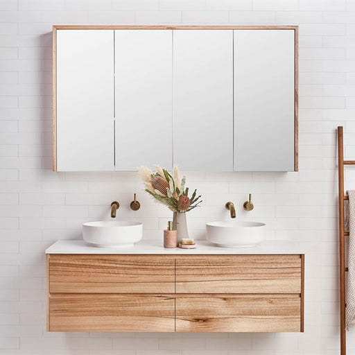 Loughlin Furniture Staples Tasmanian Oak Vanity 1200mm Online - The Blue Space - Timber Vanities