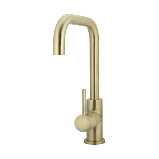 Meir Round Kitchen Mixer - Tiger Bronze - The Blue Space