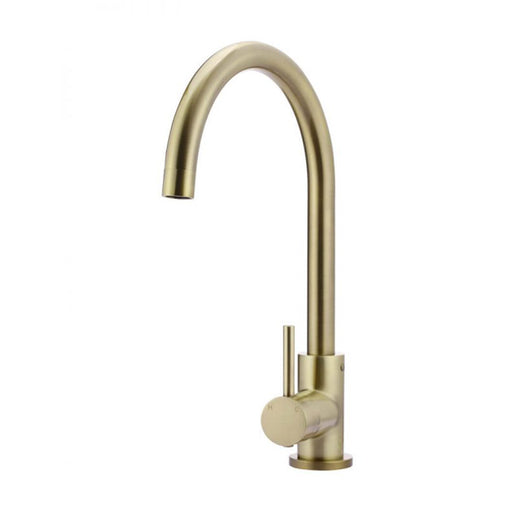 Meir Round Kitchen Mixer - Tiger Bronze