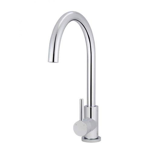 Meir Round Kitchen Mixer - Chrome - The Blue Space