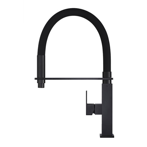Meir Flexible Matte Black Kitchen Mixer - The Blue Space