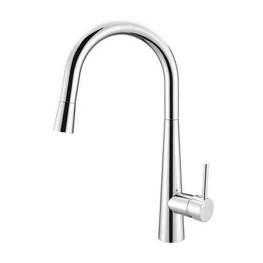 Meir Round Pull Out Kitchen Mixer Tap - Chrome Online at The Blue Space